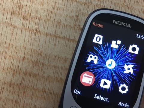 En el Nokia 3310 se puede escuchar la radio sin consumir datos