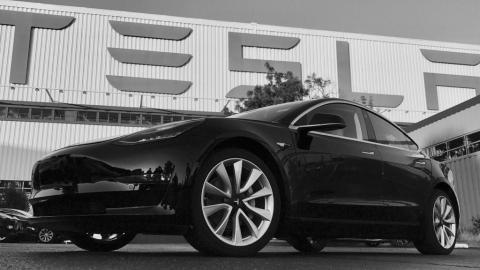 Así es el primer Tesla Model 3