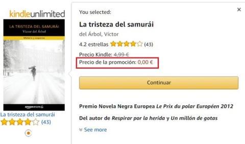 Amazon regala un ebook gratis como adelanto del Prime Day 2017