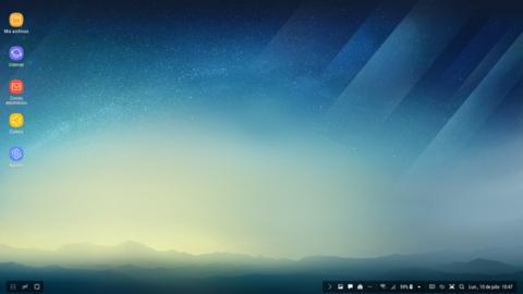 La interfaz de Samsung DeX