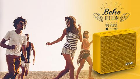 SPC One Speaker Boho Edition, una nota de color para el verano