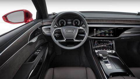 El Audi A8 2019 presume de nivel tres de conducción autónoma