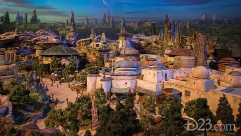 Primeras imágenes en 3D de Star Wars Land.