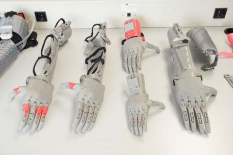 Prótesis impresa en 3D