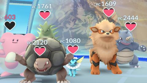 Los gimnasios de Pokémon GO sufren un nuevo bug.