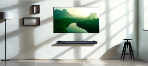 LG OLED W7 Diseño