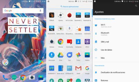 El sistema operativo del nuevo OnePlus 5 es, en su versión europea y como en anteriores modelos, Oxygen OS, una versión adaptada por la propia OnePlus basada en Android 7.1.1.