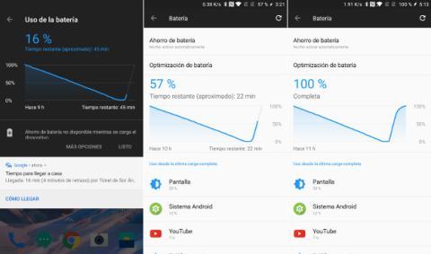 La carga rápida del OnePlus 5 permite alcanzar un 50% de capacidad en tan solo 25 minutos.
