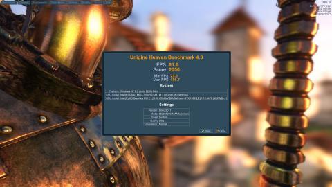 MSI GS43VR 7RE Phantom Pro, benchmarks