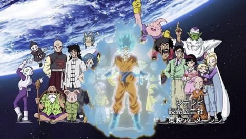 Los nuevos personajes de la serie Dragon Ball Super