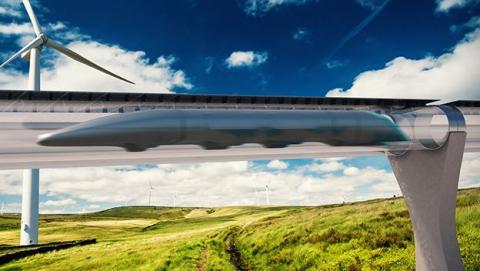 Paisaje Hyperloop