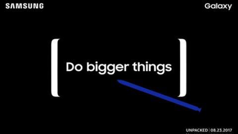 Ya sabemos cuándo sale el Samsung Galaxy Note 8.