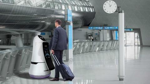 LG ultima su flota de robots para el aeropuerto de Seúl