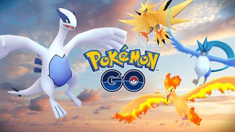 Lugia y Articuno, llegan los primeros legendarios a Pokémon Go