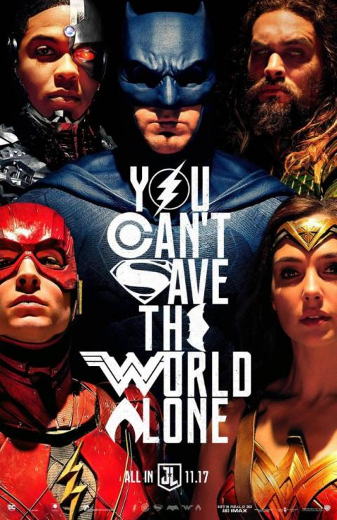 póster Justice League