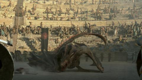Cómo matar a un dragón en Juego de Tronos.