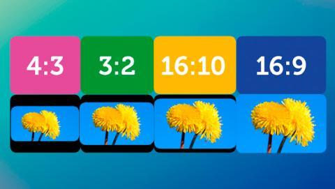 El 3:2 frente a los demás formatos de pantalla que hay en el mercado