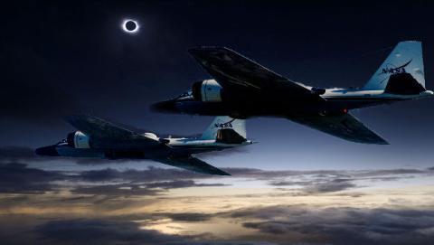 La NASA tiene un plan para que el eclipse solar total dure hasta tres veces más