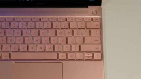 El teclado del ordenador portátil de Huawei