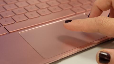 Así es el touchpad que incorpora este equipo