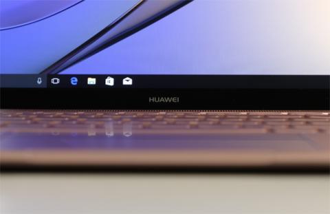 La pantalla es otra de las características llamativas del Huawei MateBook X
