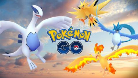 Legendarios en Pokémon GO: Moltres, ya disponible.