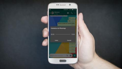 Audios de WhatsApp más largos con la nueva actualización.