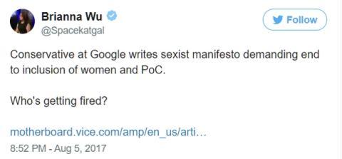 El manifiesto machista de un ingeniero de Google incendia las redes