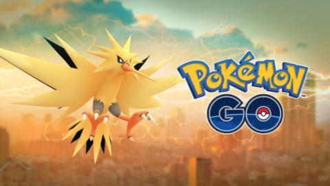 Ya puedes capturar a Zapdos en Pokémon GO.