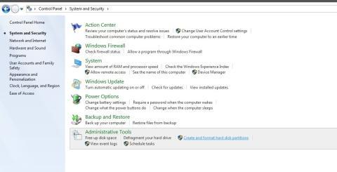Cómo particionar el disco duro en Windows 7.