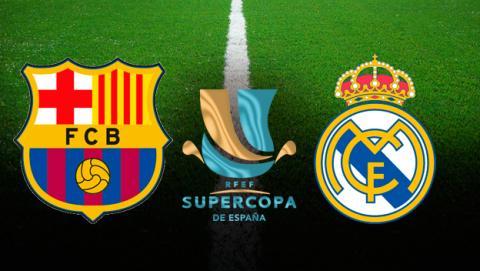 Cómo ver el Barça - Madrid de la Supercopa en directo.