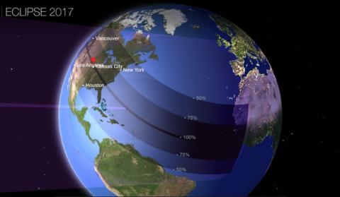 Amazon retira gafas para ver el eclipse de agosto 2017