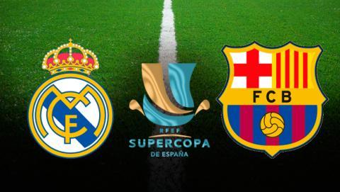 Cómo ver el Madrid - Barça de la Supercopa en directo.