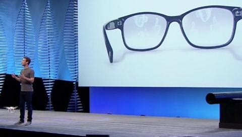 Facebook trabaja en sus gafas de realidad aumentada