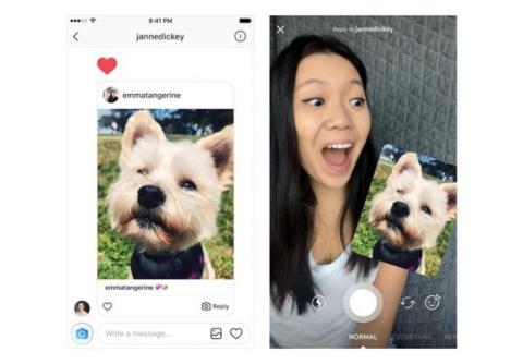 instagram mensajes