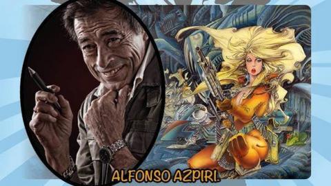 Tributo a Azpiri, figura clave de los videojuegos en España