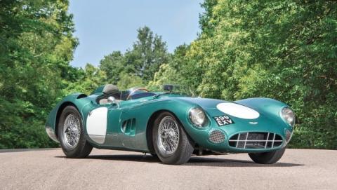 Aston Martin DBR1, el coche británico más caro de la historia