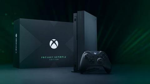Novedades y unboxing de Xbox One X en Gamescom 2017