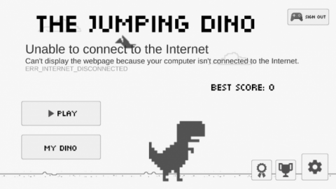 Juego dinosaurio Android
