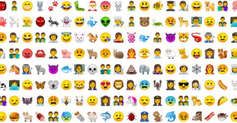 Nuevos emojis Android Oreo