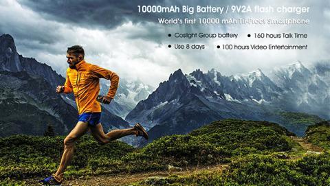 Oukitel K10000 Max, 2 horas de uso con 5 minutos de carga
