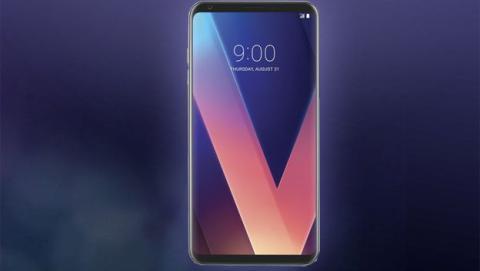 Imagen real LG V30