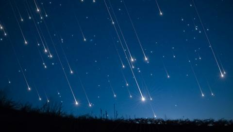 lluvia estrellas