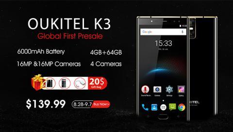 Oukitel K3 inicia su fase de reserva con grandes descuentos