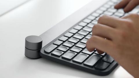 Logitech Craft es un teclado con dial pensado para los amantes del Photoshop