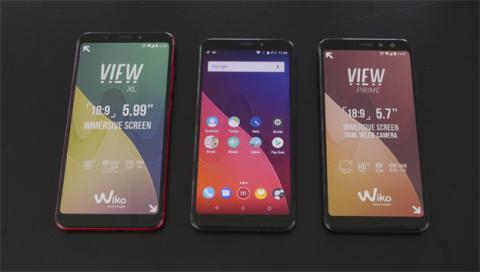 Las dos variantes del nuevo Wiko View