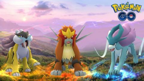 Llegan los perros legendarios a Pokémon GO.
