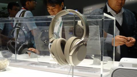 Los auriculares que ha presentado Sony en la IFA 2017