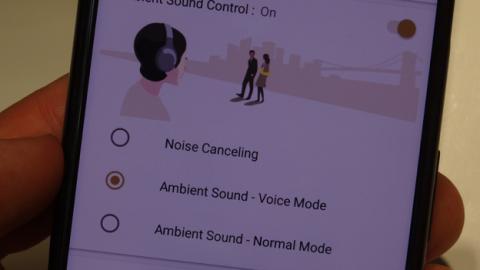 La aplicación de Sony Headphones