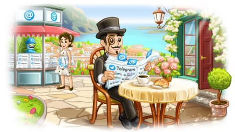 Novedades de Telegram 4.3.